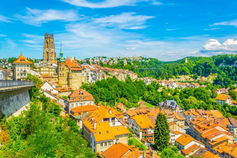 Fribourg day trips from Zurich