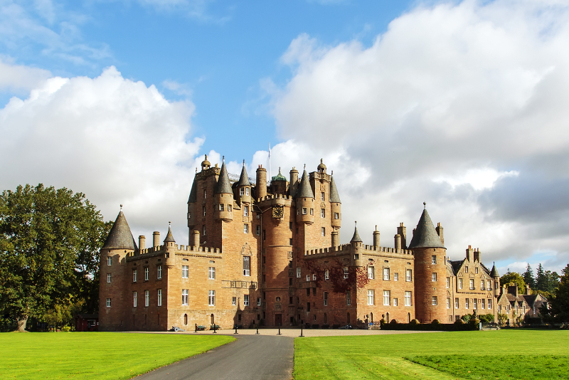 Glamis Castle - day trips from Edinburgh