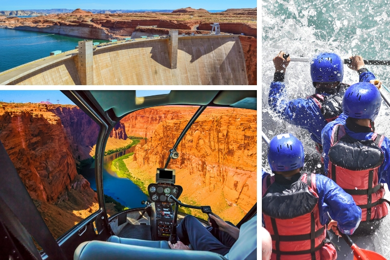 Grand Canyon Helicopter Tour with Black Canyon Rafting