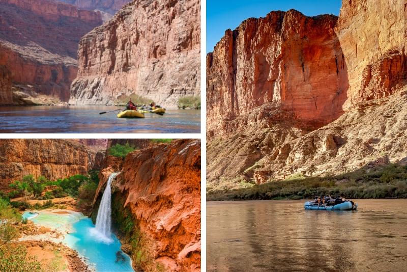 Excursión de rafting del Gran Cañón desde Las Vegas