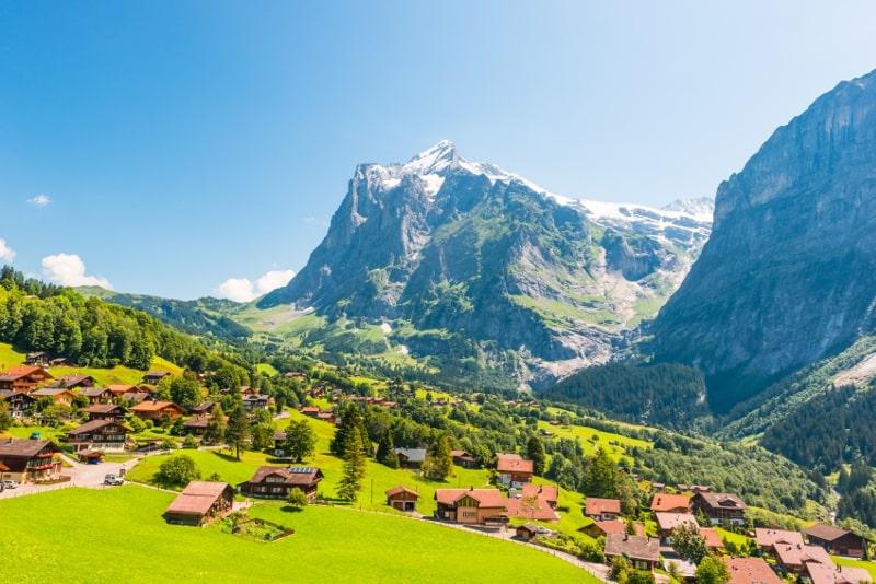 Grindelwald day trips from Zurich