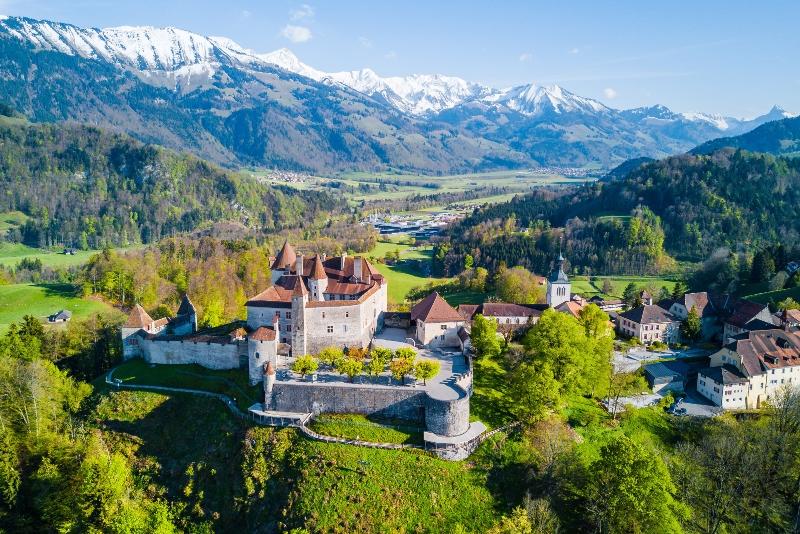 Gruyeres day trips from Zurich