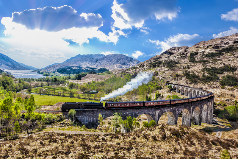 Harry Potter filming locations - day trips from Edinburgh