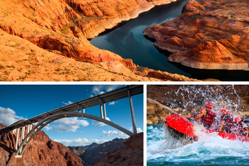 Hoover Dam and Black Canyon Rafting