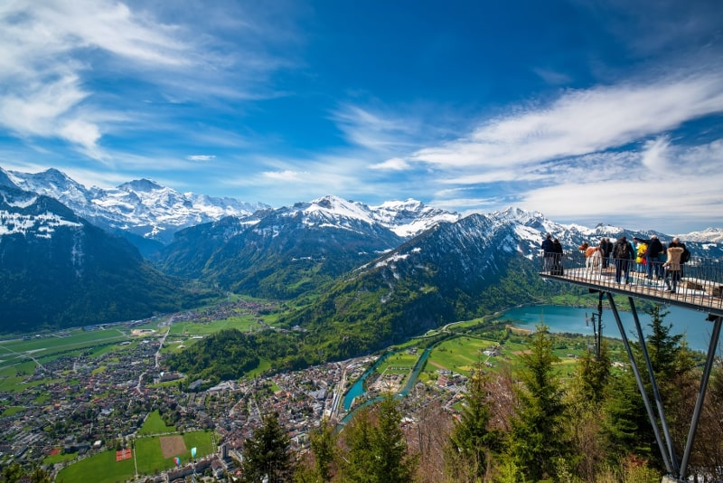 Interlaken day trips from Zurich