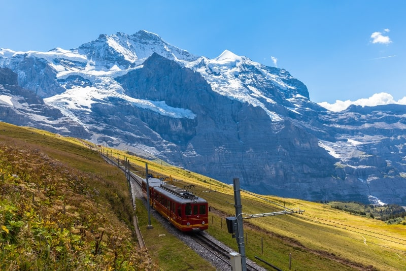 Jungfraujoch day trips from Zurich