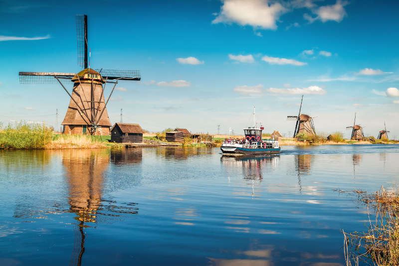 Kinderdijk day trips from Amsterdam