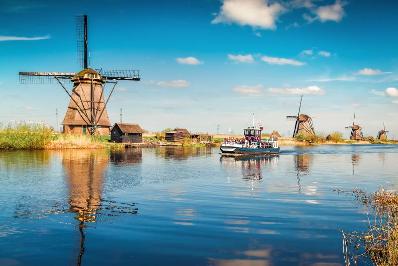 Gite di un giorno a Kinderdijk da Amsterdam