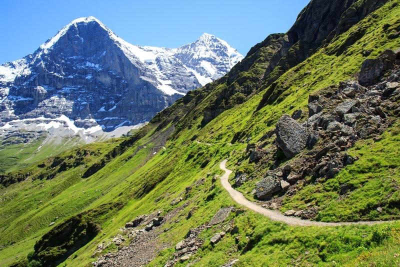 Kleine Scheidegg day trips from Zurich