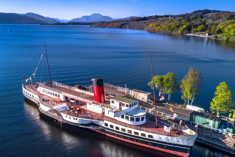 Loch Lomond - excursiones de un día desde Edimburgo