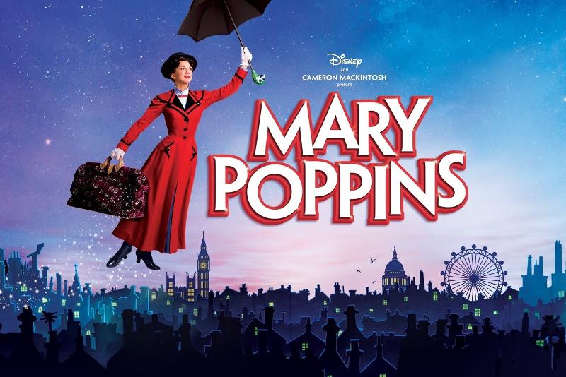 Mary Poppins - Meilleures Comédies Musicales à voir à Londres en 2019/2020