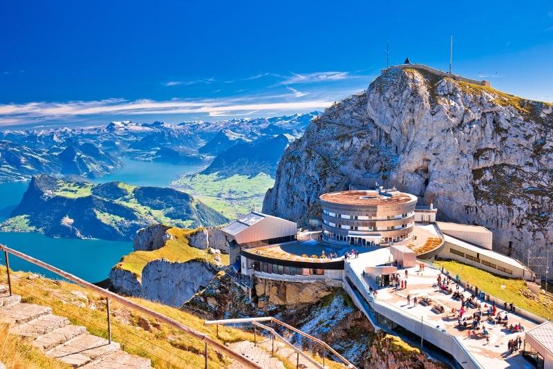 Mount Pilatus day trips from Zurich