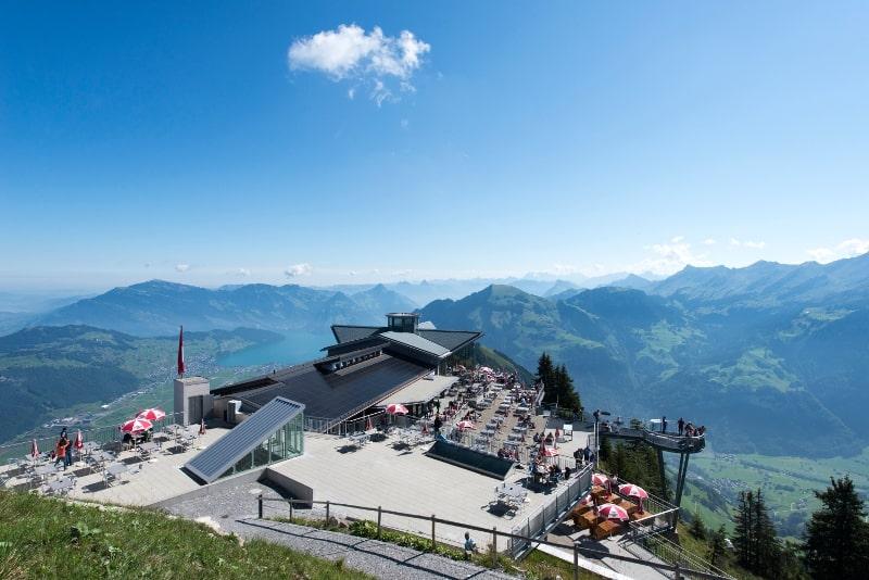 Mount Stanserhorn day trips from Zurich