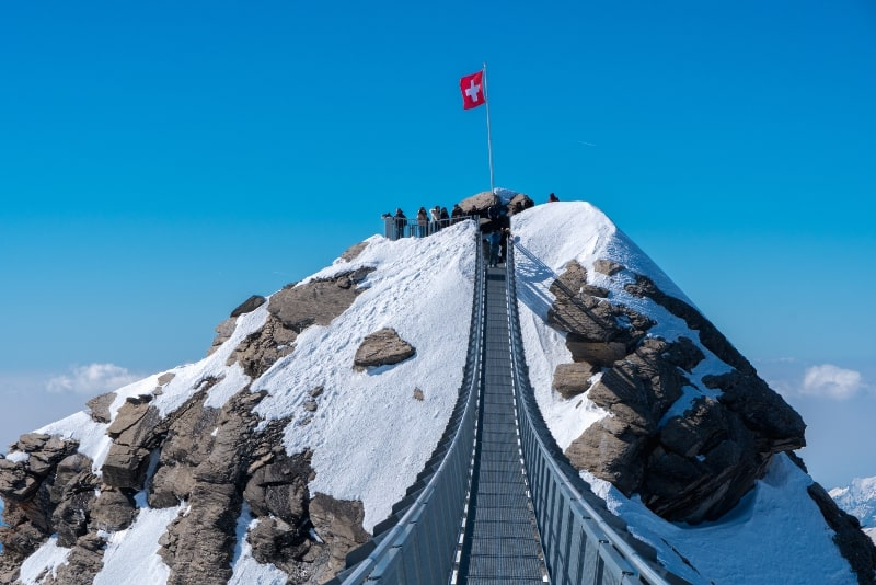 Mount Titlis day trips from Zurich