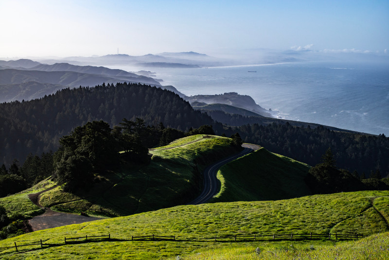 Mt Tamalpais State Park day trips from San Francisco