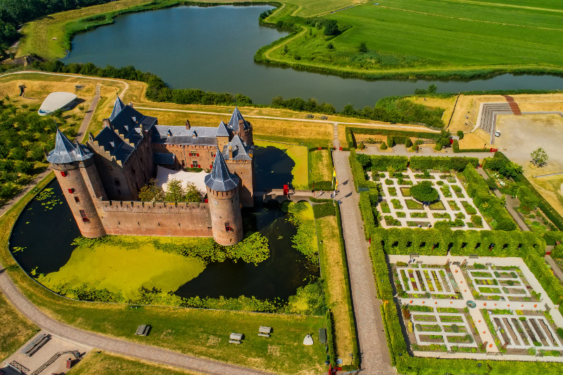 Muiderslot castle day trips from Amsterdam