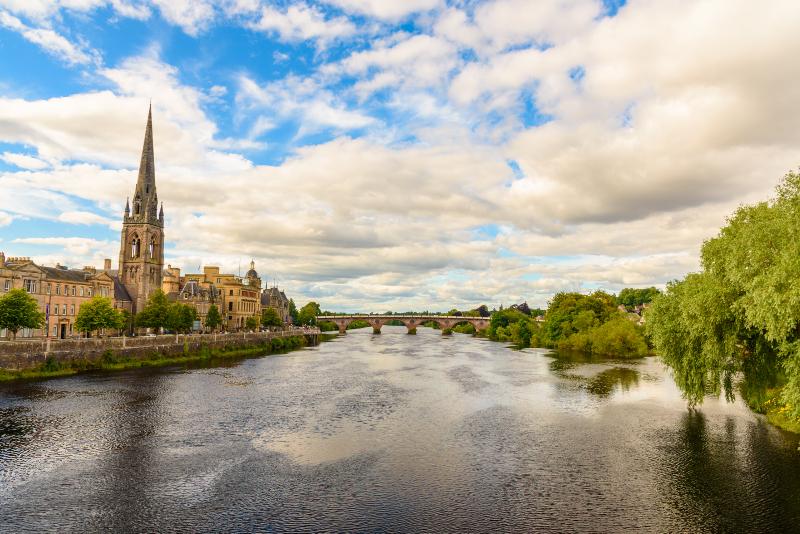 Perth - day trips from Edinburgh