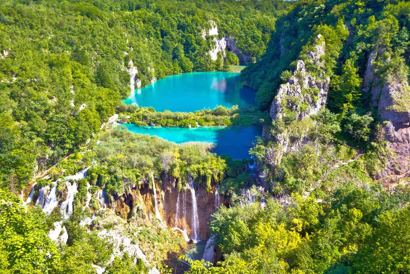 Excursiones de un día al Parque Nacional de los Lagos de Plitvice desde Dubrovnik