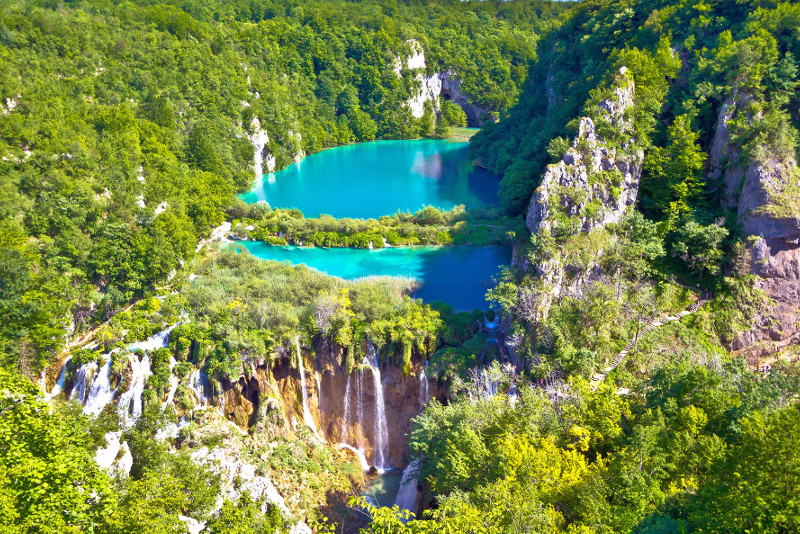 Plitvice Lakes National Park day trips from Dubrovnik