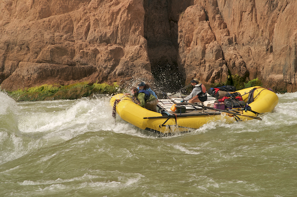 Rafting nel Grand Canyon