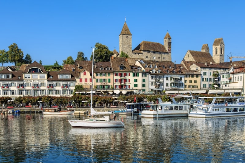 Rapperswil-Jona day trips from Zurich