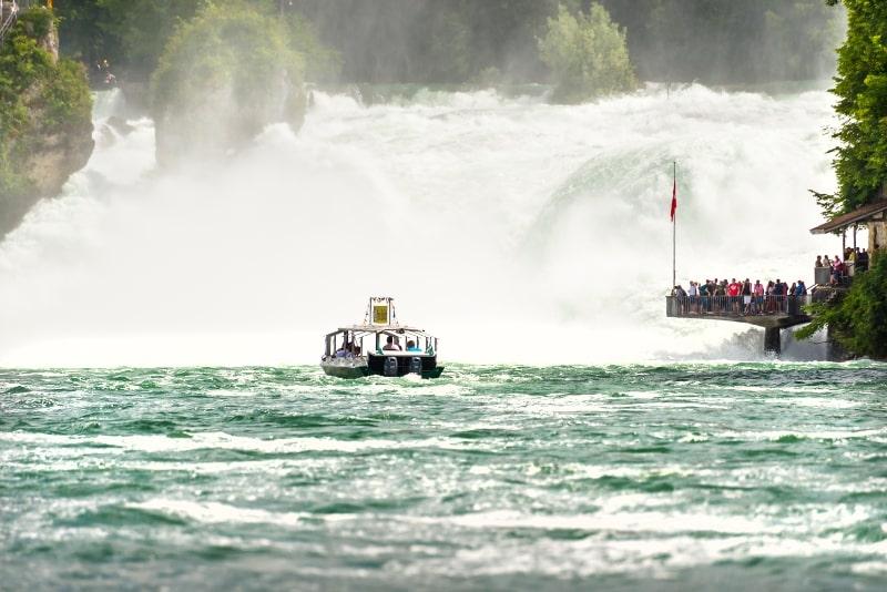 Rhine Falls day trips from Zurich