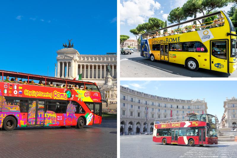 Rome bus tours companies