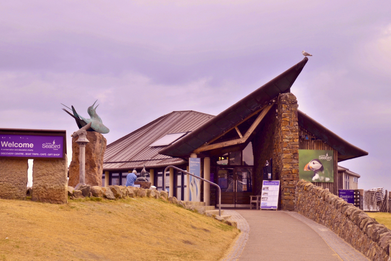 Scottish Seabird Centre - day trips from Edinburgh