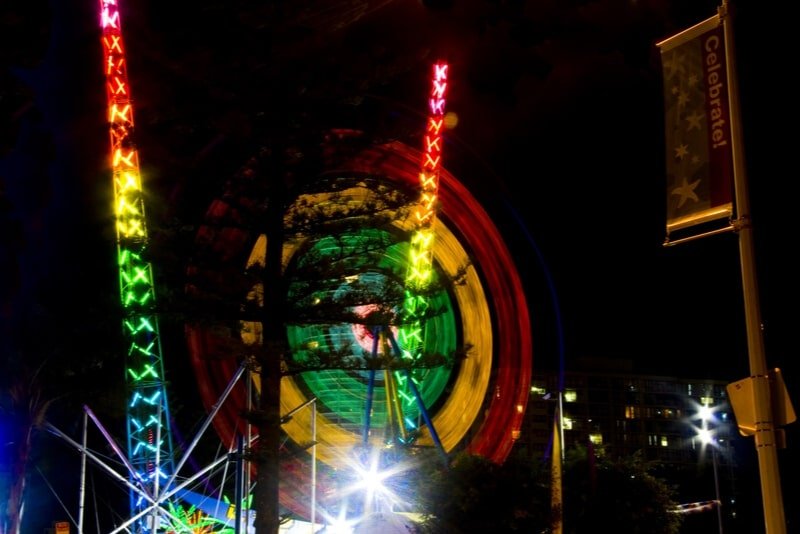 SlingShot & Vomatron Fun Park - #8 Gold Coast theme parks