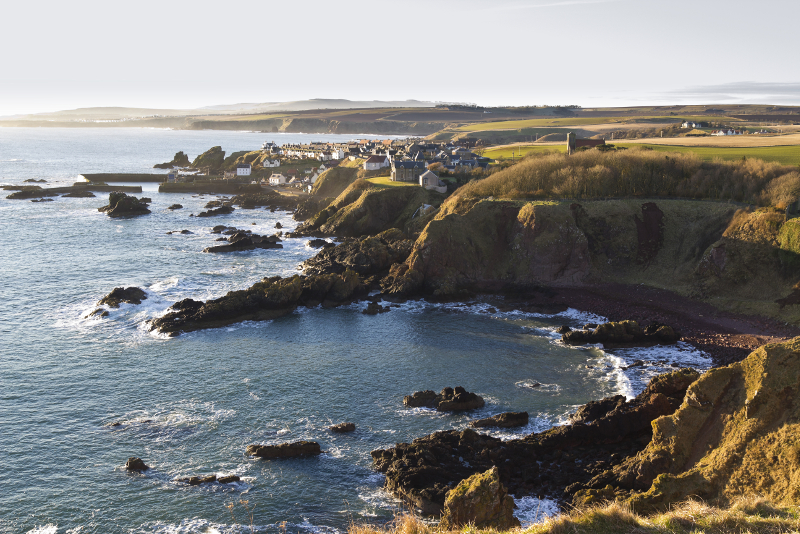 St Abbs - day trips from Edinburgh
