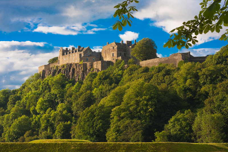 Stirling Castle - day trips from Edinburgh