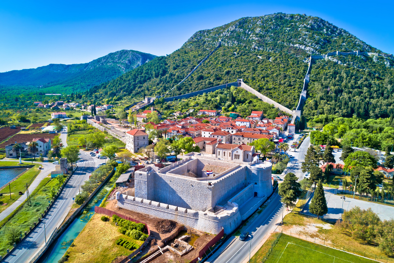 Ston day trips from Dubrovnik