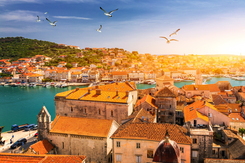 Trogir day trips from Dubrovnik