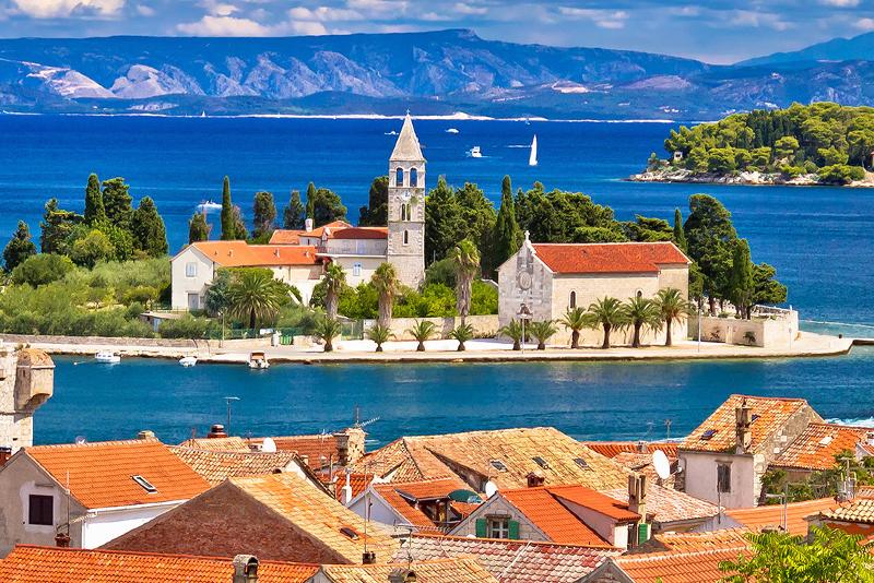 Vis Insel Tagesausflüge von Split