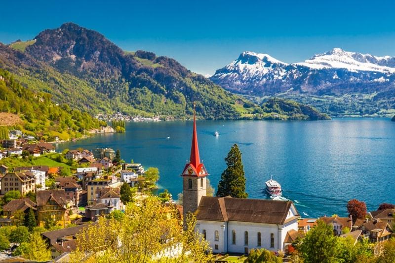 Weggis day trips from Zurich