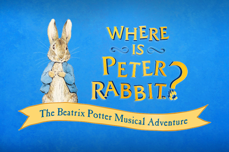 Where is Peter Rabbit? - Meilleures Comédies Musicales à voir à Londres en 2019/2020