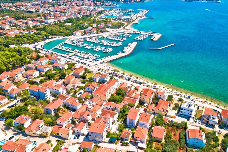 Zadar Tagesausflüge von Split