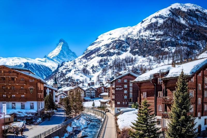 Zermatt day trips from Zurich