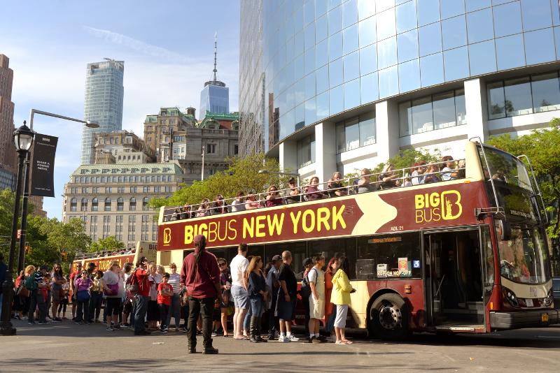book online hop on hop off NYC bus tour