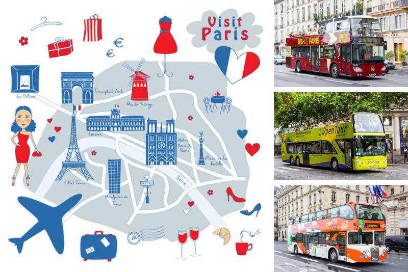 Paris bus tours companies