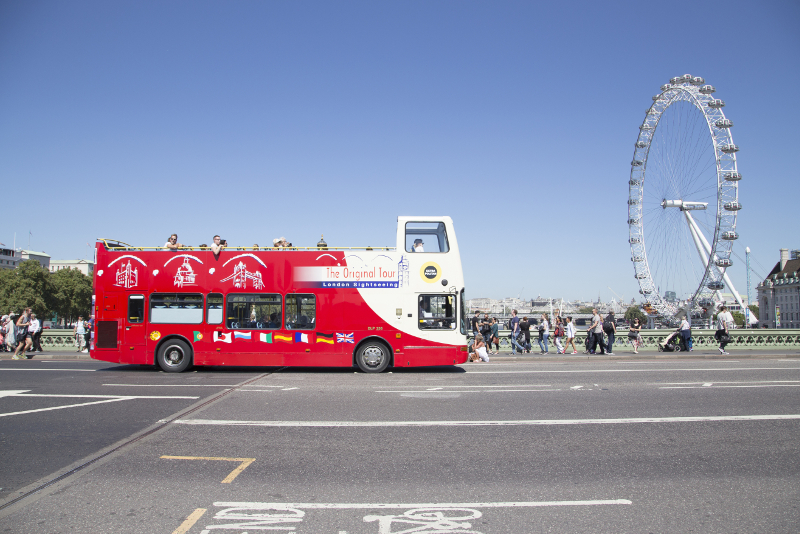 discounted hop on hop off London bus tours tickets