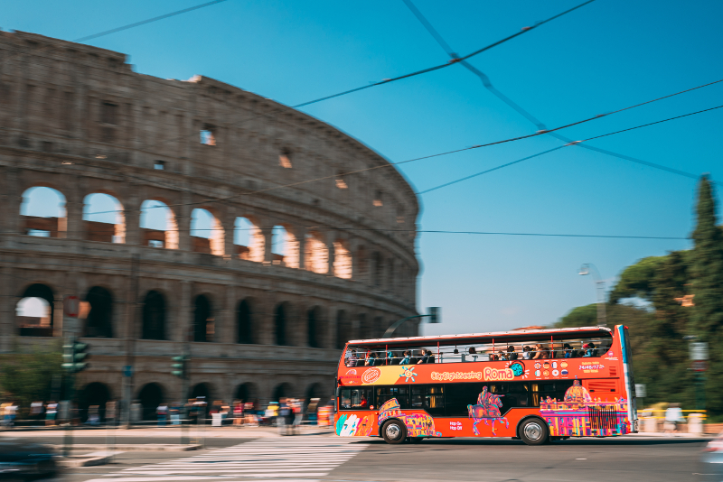 discounted hop on hop off Rome bus tours tickets