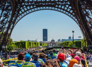 hop on hop off Paris bus tours