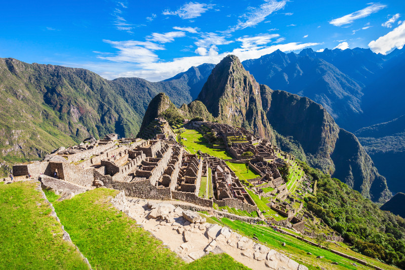 Machu Picchu Ganztagestour mit dem Zug ab Cusco