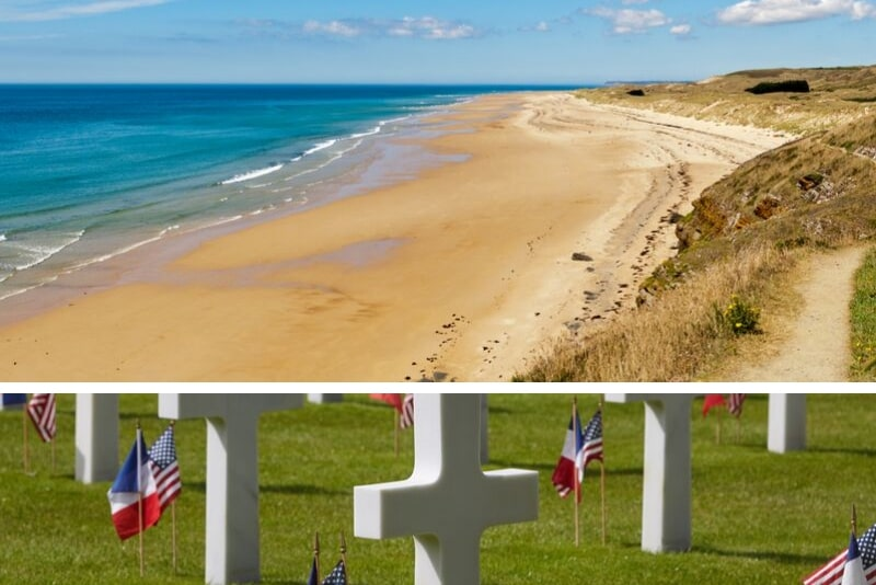 Normandy D-Day Beaches Day Trip with American Cemetery and Lunch