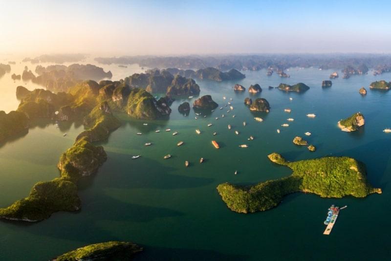 Crociera di lusso a Hanoi di 2 giorni e 1 notte nella baia di Halong e nella baia di Lan Ha