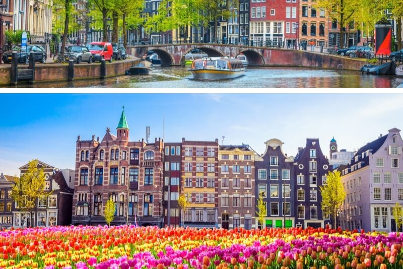 Amsterdam Walking Tour y crucero por el canal