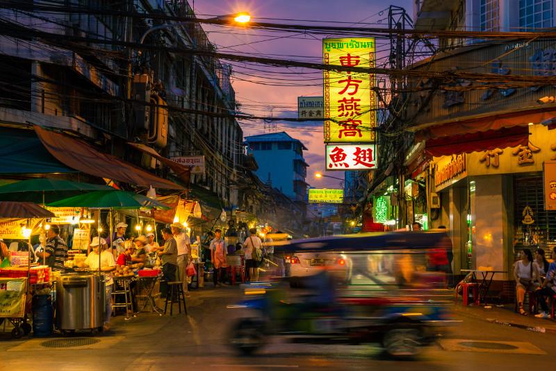 Bangkok Tuk Tuk Food Tour
