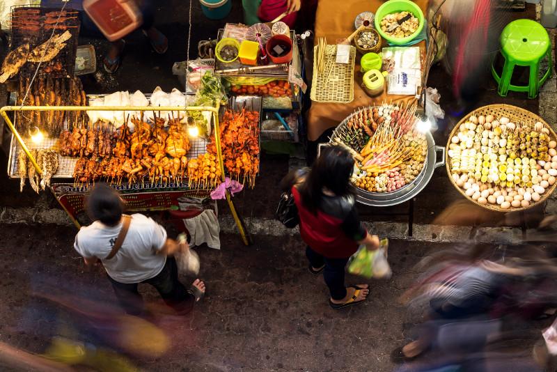 Bangkok Food Tour of Bang Rak with Local Guide