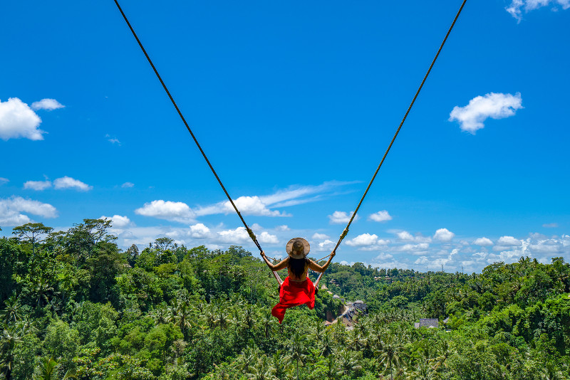 Ubud Jungle Swing Private Tour